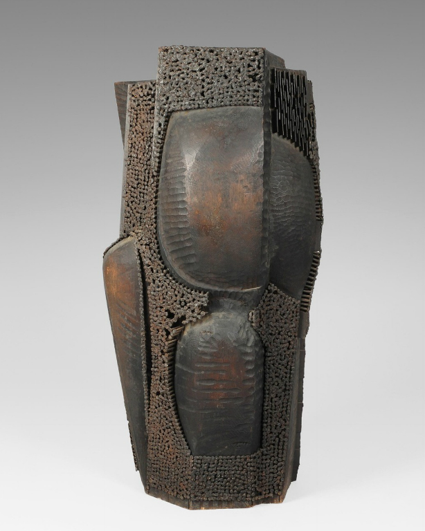 Dušan Džamonja D_dzamonja_skulptura_k_1963_drvo_metal_h86_1